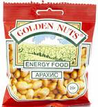 Арахис GOLDEN NUTS соленый 20 г